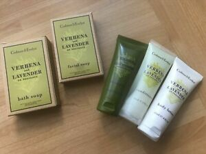 Crabtree & Evelyn  - Verbena & Lavender Travel Toiletries 5 Piece Set 24ml