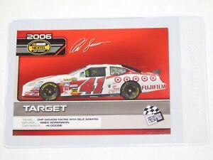 2006 PRESS PASS NASCAR TOP 25 DRIVERS & RIDES REED SORENSON'S CAR CARD #C19