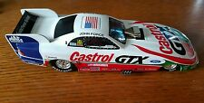 JOHN FORCE CASTROL 1998 Mustang funny car Mac Tools 1:24 scale limited edition.