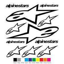 ALPINESTARS Vinyl Decal Sheet Sticker Motorcycle Graphic Set Logo Adhesive  #3