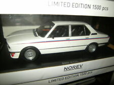 1:18 Norev BMW M 535i E12  white/weiss Limited Edition 1 of 1500 pcs. in OVP