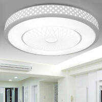 Bright Round LED Ceiling Down Light Panel Wall Kitchen Bathroom Lamp Cool White