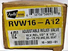 Apollo Valves RVW16-A12 Adjustable Relief Valve