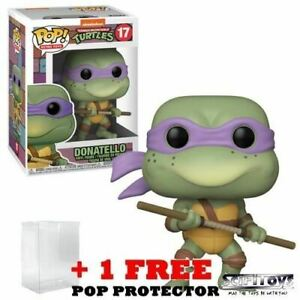 Teenage Mutant Ninja Turtles 1990 - Donatello Retro #17 Pop Vinyl Figure Funko