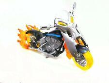 MARVEL LEGENDS GHOST RIDER FLAMING MOTORCYCLE BIKE CUSTOM FODDER
