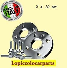 2 DISTANZIALI per Fiat (4x98) 58.1 da 16 mm con bulloni panda 600 500 punto etc