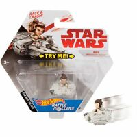 Star Wars Rey Millennium Falcon Hot Wheels Battle Roller  Die-Cast  Race & Crash
