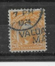 PHILIPPINES Stamps- Scott # 297/A40-20c-Canc/LH-1917-25-NG