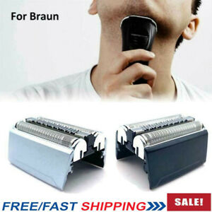 Replacement Parts Foil Head For Braun Shaver Razor Series 5 Wet Dry 52B/52S NEW