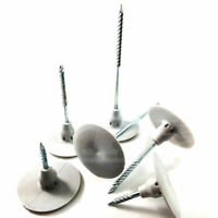 100 x CTP 'NAIL IN' FIXINGS FOR WALL INSULATION BOARDS CELOTEX KINGSPAN JABLITE