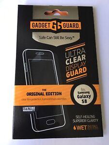 Gadget Guard HD FILM Screen Protector for Samsung Galaxy S8, Original Edition