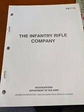 Department of The Army .U S Army Fm7-10 Rifle Company Infantry Reg 1990
