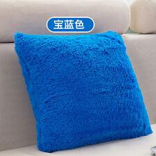 Soft Plush Square Pillow Case Cushion Cover Sofa Waist Throw Home Decoration