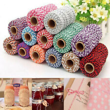 100m Cotton Baker's Twine Rope String Cord Gifts Wrapping Packaging Rope US