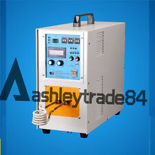 New Top 15KW 30-80KHz High Frequency Induction Heater Furnace LH-15A