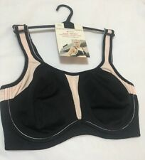 BNWT Marks & Spencer Active Underwired Flexiwire High Impact Sports Bra 40E (I)