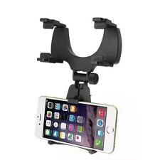 New Universal Car Rearview Mirror Mount Holder Stand Cradle For Cell Phone GPS