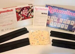 The Orginal Rummikub Family Board game Milton Bradley 1995 Complete Game Vintage