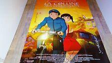 hayao miyazaki  LA COLLINE AUX COQUELICOTS ! affiche manga , japon bd dessin