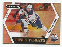 2017-18 UD Synergy Impact Players #IP25 Connor McDavid Edmonton Oilers