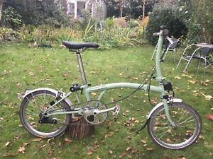 brompton S3L folding bike, cheap commuters bike