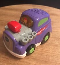VTECH Go Go Smart Wheels Vehicle Hot Rod Car Purple Tested