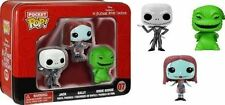 Funko Pocket Pop Vinyl 3 PK Tin 07 Nightmare Before Christmas Jack Sally Oogie