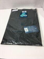 Nwt Adar Universal Black Unisex 31� Consultation Coat Medical Jacket Xl