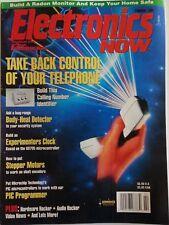 Electronics Now Magazine February 1994 Build a Radon Monitor, Body Heat Detector