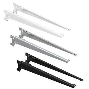 Winkelträger | Regalträger | für Regalböden Wandschienen Regalsystem | 2-er Set