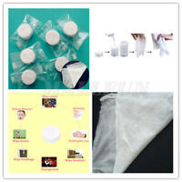 100pcs Compressed Towels Tablet Capsules Wash Cloths Camping Survival Emergency
