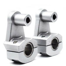 Universal 22mm HandleBar Handle Fat Bar Mount Clamps Riser For Harley Honda KTM
