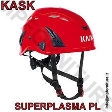 KASK ELMETTO SUPERPLASMA PL ROSSO EN 12492 CASCO ALPINISMO MONTAGNA SCALATA