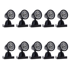 More details for lyc18 5 pcs model railway christmas lamp post flood lights o scale leds new