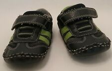 Baby Toddler Boy Size 4 Koala Kids Green and Black Athletic Shoes
