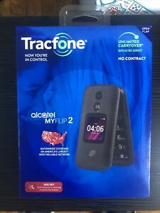 Tracfone Alcatel MY FLIP 2 Cellular Phone 4G LTE 2MP BRAND NEW SEALED!!!!