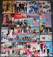 One Direction Clippings Pack 16 Full page magazine Pinups & Articles Mix M498