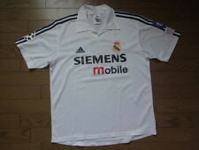 Real Madrid 100% Original Centenary Jersey 2001/02 CL Home S #4 Good Condition