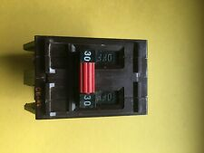 "Wadsworth Electric 30 Amp 2 Pole Type A A230N ""Metal Tabs"" Circuit Breaker Read"