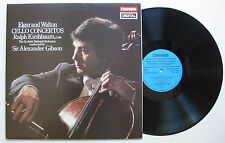 ELGAR AND WALTON (LP 33T) CELLO CONCERTOS - RALPH KIRSHBAUM