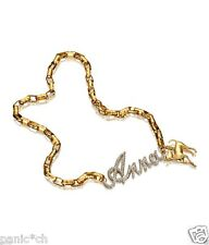 Anna dello Russo H&M - Gold Anna necklace - puppy charm - AdR HM purse dog