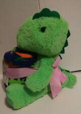 "Comfort Bay Dinosaur Stuffed Toy Plush With Throw Blanket 2 Piece Set - 35x50"""