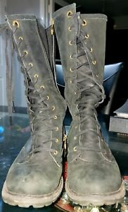 TIMBERLAND Women's Savin Hill Brown Leather Mid-Calf Boots  Size 4 UK