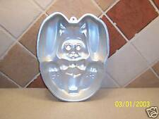 Wilton Bunny Rabbit Easter Cake Baking Mold Pan 1987