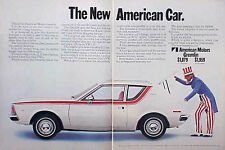 1970 AMC Gremlin ORIGINAL Vintage Ad C STORE 4 MORE GREAT ADS  5+= FREE SHIPPING
