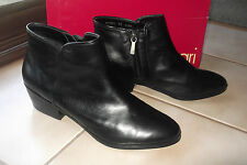 BRAND NEW WOMENS   DIANA FERRARI  ANKLE LEATHER BOOTS/SHOES   SZ 8.5