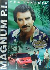 MAGNUM P.I.The COMPLETE THIRD SEASON 18+ Hours 22 Episodes 3-Disc Set SEALED