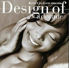 Janet Jackson : Design of a Decade (1996 UK 16-track CD, EX Disc, New Case)