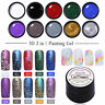 LEMOOC 3D Emboss Carving Gel Polish Soak Off Painting Nail Art UV Gel Varnish