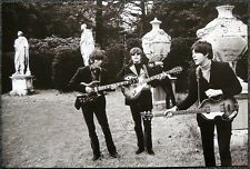 THE BEATLES POSTER PAGE . PAPERBACK WRITER PROMO CHISWICK PARK LONDON 1966 . G5